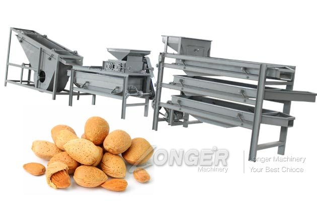 Almond Shelling Unit