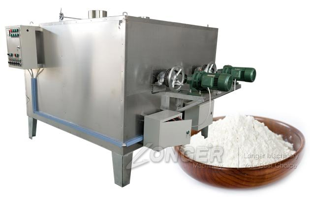 Wheat Flour Roasting Machine