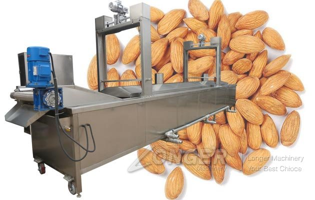 Almond Blancher Machine