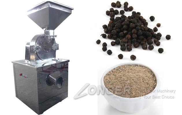 Black Pepper Grinder Machine