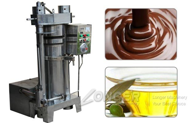 Cocoa Oil Press Machine