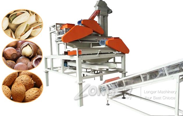 Commercial Almond Shelling Machine