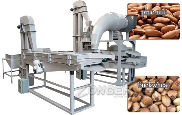 Pine Nut Shelling Grading Machine