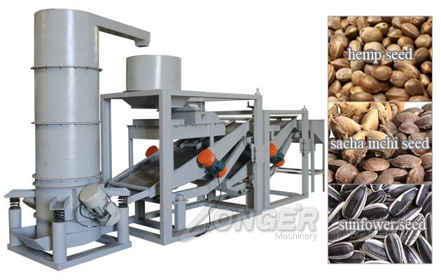 Sacha Inchi Seed Hulling Machine