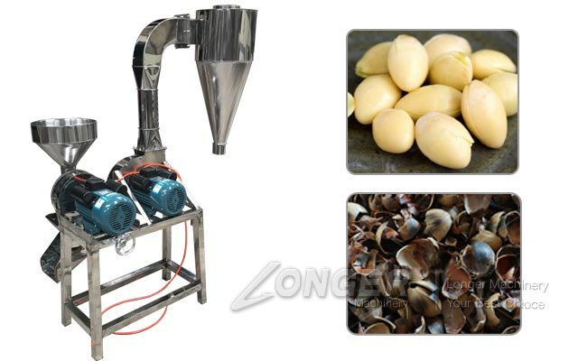 Ginkgo Shell Peeling Machine