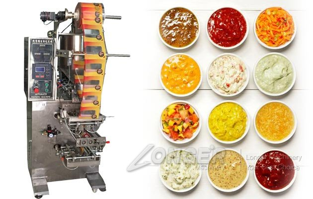 Automatic Condiments Packaging Machine