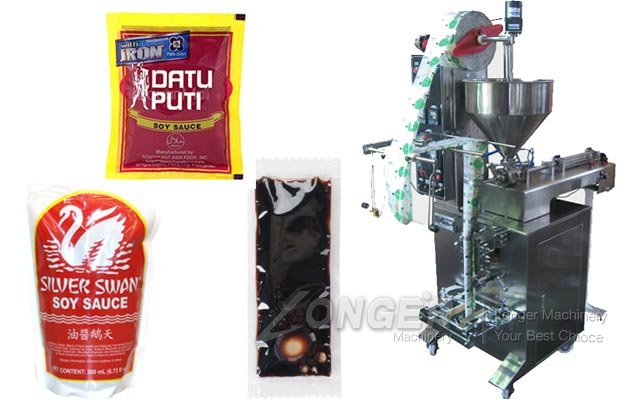 Automatic Soy Sauce Packaging Machine
