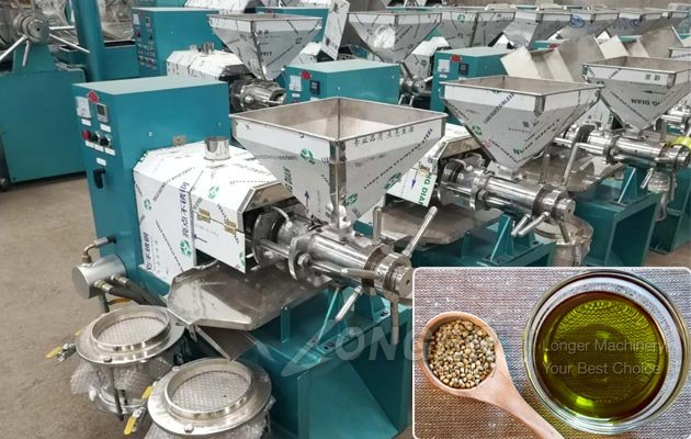 Hemp Oil Screw Press Machine