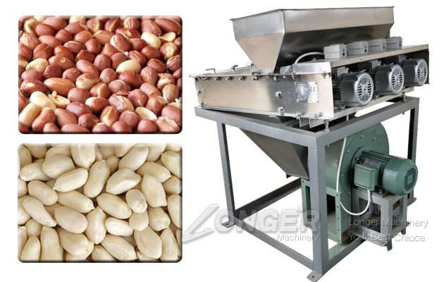 Roasted Peanut Skinning Machine