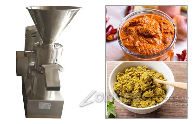 Industrial Thai Curry Paste Grinding Machine