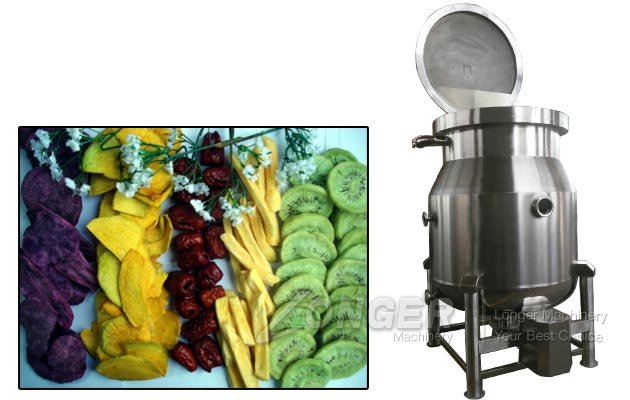 Fruit Chips Vacuum Fryer Machine Price