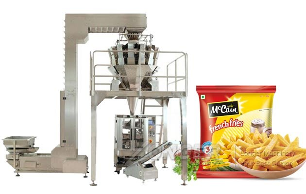 Automatic French Fries Packaging Machine for Sale