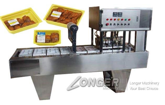 Fast Food Tray Sealing Machine for Sale