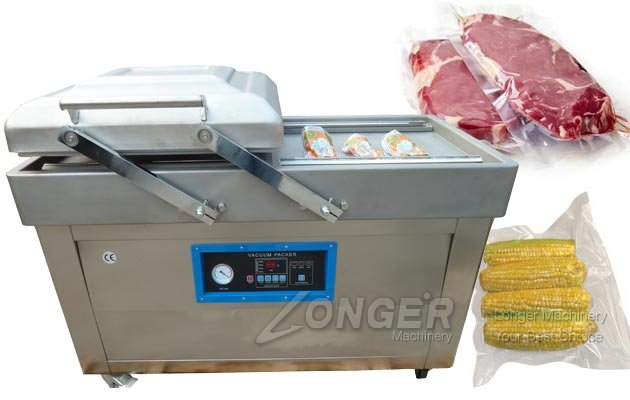 Automatic Double Chamber Vacuum Packaging Machine