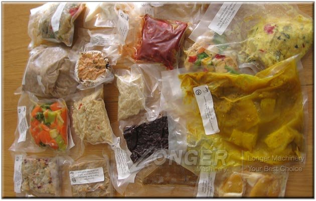 Vacuum Packed Food