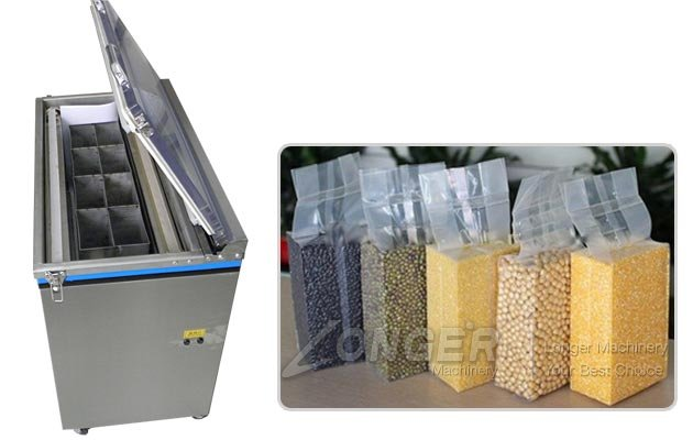 Brick Type Vacuum Packaging Machine for Grains