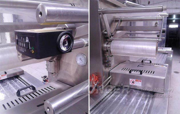 Film Wrapping Packaging Machine for Food