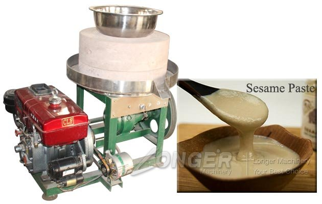 Industrial Sesame Paste Stone Mill