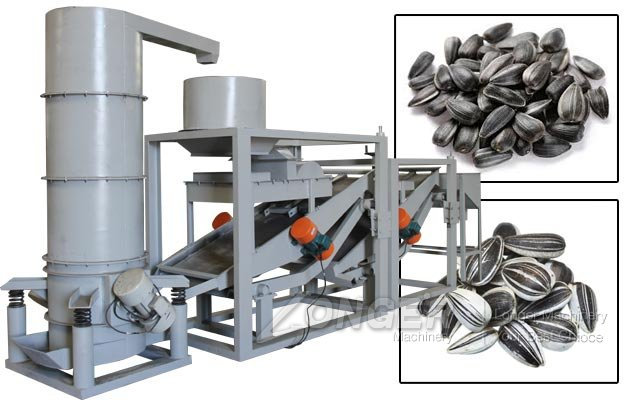 Fully Automatic Sunflower Seed Hulling Machine
