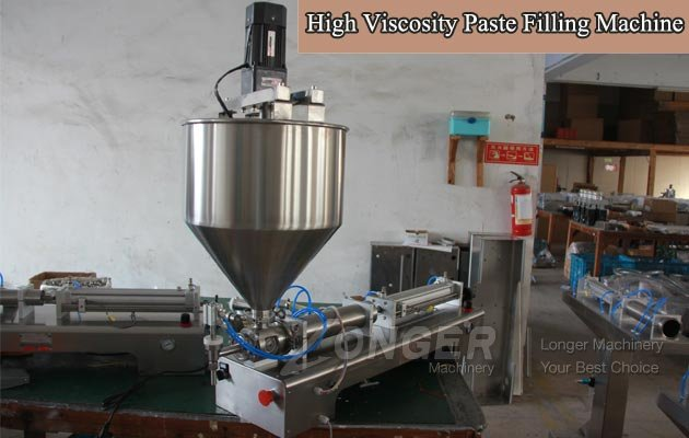 High Viscosity Paste Filling Machine China