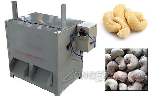 Semi Automatic Cashew Nut Shelling Machine for Sale