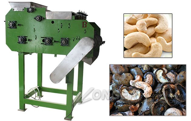 Automatic Cashew Nut Shell Cutting Machine for Sale