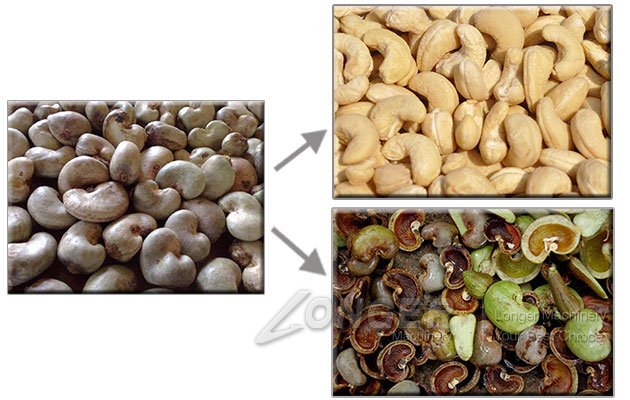 Commercial Cashew Nut Husking Machine in China