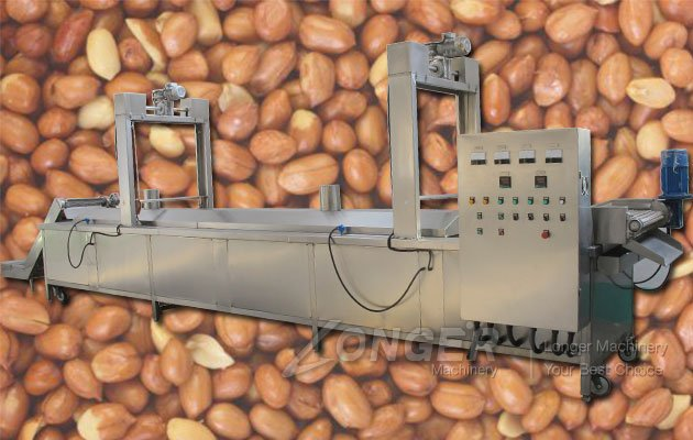 Peanut Blanching Process