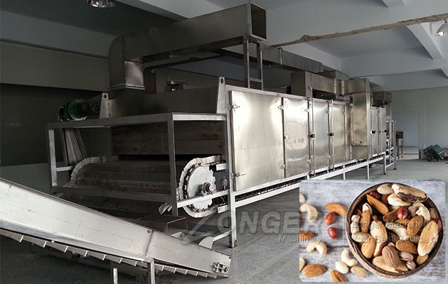 Multifunctional Continuous Peanut Roaster for Sale