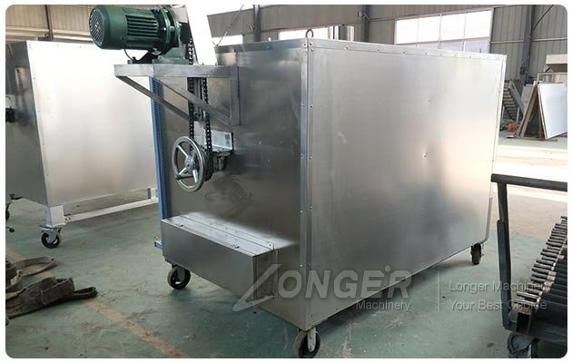 Single Drum Sesame Seed Roaster Machine