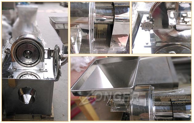 Stainless Steel Turmeric Grinding Machine Price